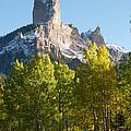 Chimney Rock - Colorado  by Aaron Spong
