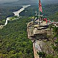 Chimney Rock Overlook by Alex Grichenko