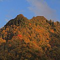 Chimney Tops In Smoky Mountains by Dan Sproul