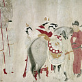 China Concubine & Horse by Granger