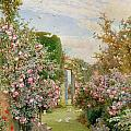 China Roses by Alfred Parsons