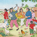 China  Women On A Communal  Farm Form by Mary Evans Picture Library