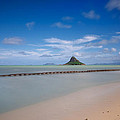 Chinaman's Hat Mokolii In Hawaii by Tin Lung Chao