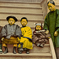 Chinatown Family by Underwood Archives
