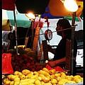 Chinatown Fruit Vendor by Miriam Danar