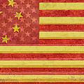 Chinese American Flag Blend by Tony Rubino