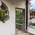 Chinese Courtyard by Jamie Pham