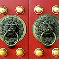 Chinese Doorknob by King Wu
