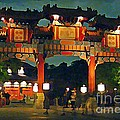 Chinese Entrance Arch by John Malone