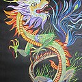 Chinese Fire Dragon by Tracey Harrington-Simpson