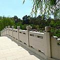Chinese Garden Bridge by Denise Mazzocco