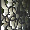 Chinese Garden Window by Cheryl Hardt Art