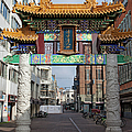 Chinese Gate To The Chinatown  by Artur Bogacki