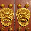 Chinese Imperial Door Knockers by Alfred Ng