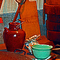 Chinese Kitchen Cookware by Joseph Coulombe