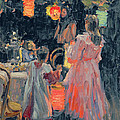 Chinese Lanterns by Ivan Semyonovich Kulikov