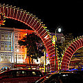 Chinese New Year 2012 Dragon Sculpture Decoration Panorama by Jit Lim