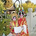 Chinese Opera Children - Traditional Chinese Opera Costumes. by Jamie Pham