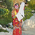 Chinese Opera Girl - In Full Traditional Chinese Opera Costumes. by Jamie Pham