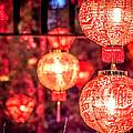 Chinese Red Lantern by Jijo George