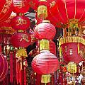 Chinese Red Lanterns by Jacek Malipan