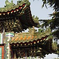 Chinese Temple Roofs by Alfred Ng