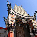 Chinese Theatre In Hollywood by Brenda Kean