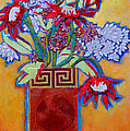 Chinese Vase by Diane Fine