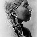 Chinookan Indian Woman Circa 1910 by Aged Pixel