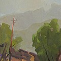 Chiquito Canyon In The Morning by Ernie Dollman