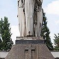 Chisletti Bonelli Memorial Front View Monumental Cemetery Milan by Sally Rockefeller