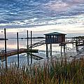 Chisolm Island Docks by Scott Hansen