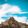 Chiu Monastery Near Lake Manosarovar by Raimond Klavins