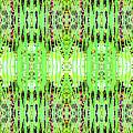 Chive Abstract Green by Barbara Moignard