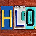 CHLOE License Plate Name Sign Fun Kid Room Decor by Design Turnpike