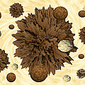 Chocolate Asteroids by Rob Hawkins