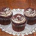 Chocolate Caramel Cupcakes by Les Palenik