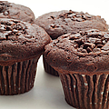Chocolate Chocolate Chip Muffins - Bakery - Breakfast by Andee Design