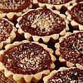 Chocolate Pecan Tarteletts by Iris Richardson