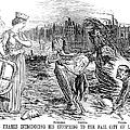 Cholera Cartoon, 1858 by Granger