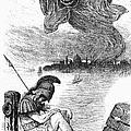 Cholera Cartoon, 1883 by Granger
