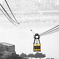 Chongqing Cable Car by Valentino Visentini
