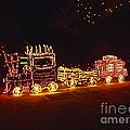 Choo Choo Train In Lights by Marian Bell