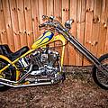Chopper Custom Built Harley by Randall Branham