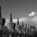 Chortens In The Sky  by Sumit Walia
