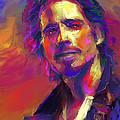 Chris Cornell  by Roland Saldivar