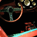Chris Craft Interior With Gauges by Michelle Calkins