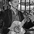 Chris Craig - New Orleans Musician Bw by Steve Harrington