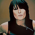 Chrissie Hynde Painting by Paul Meijering