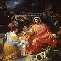 Christ Blessing The Little Children by Benjamin Robert Haydon